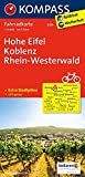 Hohe Eifel, Koblenz, Rhein-Westerwald: Fahrradkarte. GPS-genau. 1:70000 (KOMPASS-Fahrradkarten Deutschland, Band 3059)