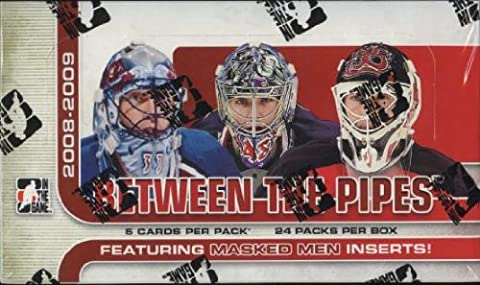 2008/2009in the Game Between the Pipes Hockey Hobby Box
