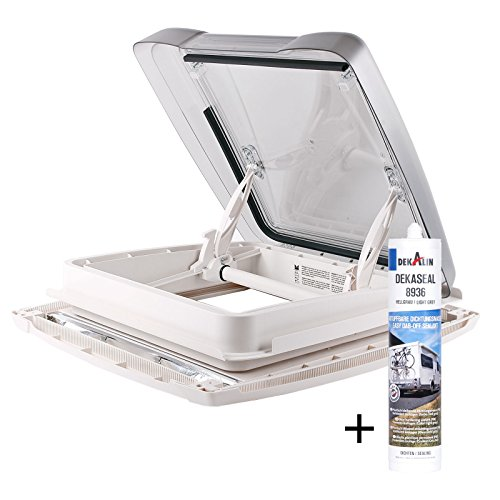 Dachfenster MpK Vision Star M pro klar 40x40 cm Dachstärke 25 - 60 mm 48P + Deklain Dichtmittel