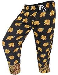 by soljo - Pantalon pantalons de loisirs sportifs pantalon Elephant noire