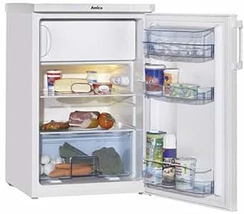 Amica ks15201 r frig rateur a 84 5 cm hauteur 175 kwh an for Refrigerateur congelateur hauteur 170 cm