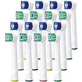 Ricambi Spazzolini Elettrici Oral B, Testine Ricambio per Oral B, Multipack 4 x 4, 16 Precision Clean, 16 Pezzi, Pienamente Compatibile con Braun Oral B Vitality (16)