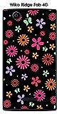 Onozo Coque Wiko Ridge Fab 4G Design Pluie de Fleurs
