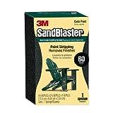 3M SandBlaster P60 - Esponja de lija de doble ángulo para levantar pintura