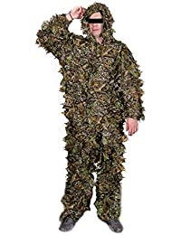ISATIS Père Pont tarnanzug feuilles Motif, Taille L–XL