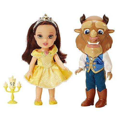 """Disney Princess """"la belleza y la bestia sea nuestro huésped Twin Pack"""" muñeca"""