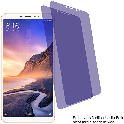 2X Crystal Clear klar Schutzfolie für Xiaomi Mi Max 3 Bildschirmschutzfolie Displayschutzfolie Schutzhülle Bildschirmschutz Bildschirmfolie Folie