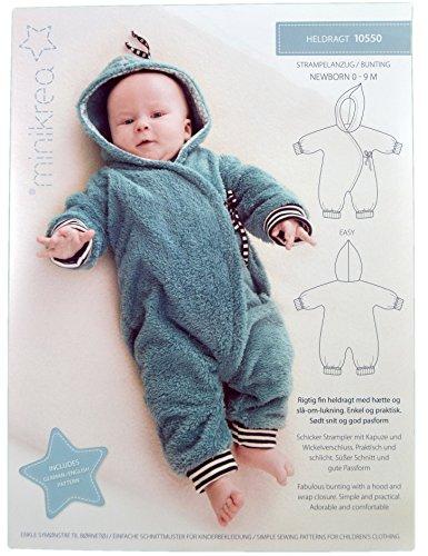 Schnittmuster Overall für Neugeborene & Babys / Nr. 1X0550 / Gr. 50-74cm
