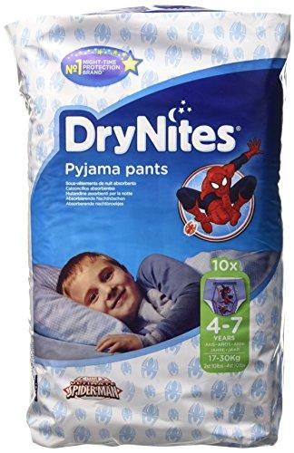 Dry Nites Pyjama Unterhosen  Boy 4-7 Jahre, 3er Pack (3 x 10 Stück)