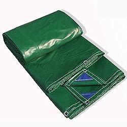 Pengbu MEIDUO Lonas Tarpaulin Tarp Cover Heavy Duty Thick Material, Waterproof, Great for Tarpaulin Toldo Carpa, Barco, RV o Pool Cover -0.4mm 450g / m² para al Aire Libre