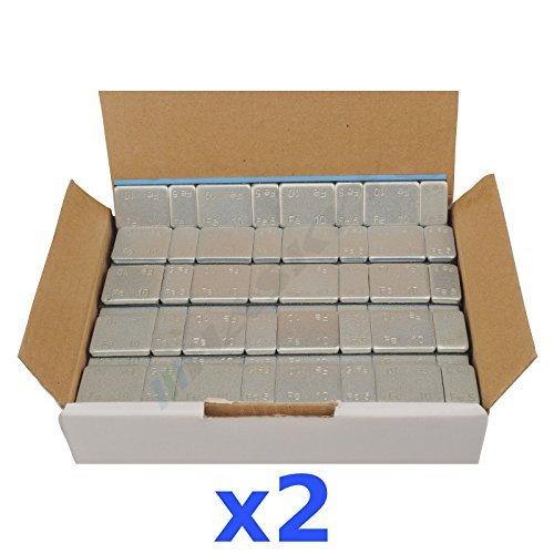 2x 6Kg 12KG Klebegewichte Kleberiegel Auswuchtgewichte 5g*4+10g*4 200 Riegel
