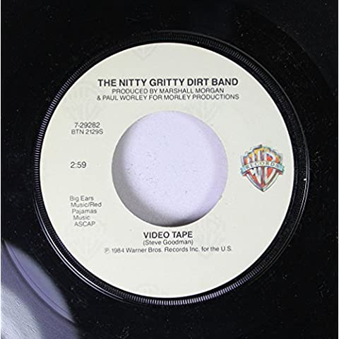 THE NITTY GRITTY DIRT BAND 45 RPM VIDEO TAPE / LONG HARD ROAD (THE SHARECROPPER'S DREAM)