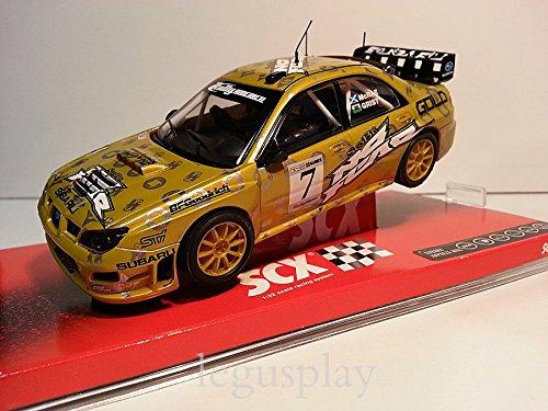 Slot SCX Scalextric A10050X300 Subaru Impreza WRC