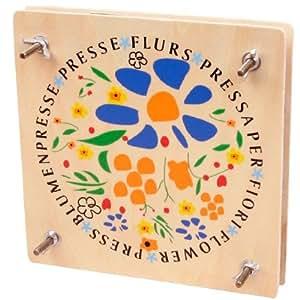 Jouet Presse fleurs Enfant Jeu educatif en bois Jouet enfant fille 5 ans +