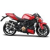 Maisto - Maqueta de motocicleta escala 1:12
