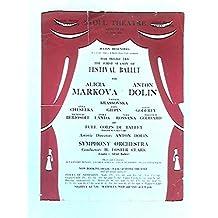 Stoll Theatre Kingsway The 1st Season of Festival Ballet