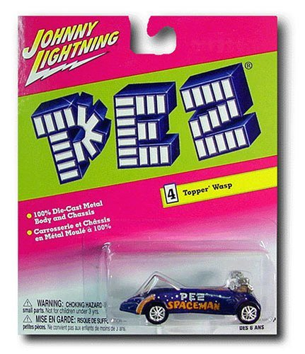 Johnny Lightning PEZ Spaceman Topper Wasp Die Cast Car 1:64 Scale by PEZ Candy by Pez Candy (Cars Johnny Lightning Diecast)