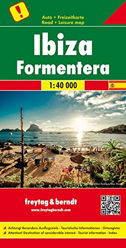 Freytag Berndt Autokarten, Ibiza - Formentera, Top 10 Tips - Maßstab 1:40.000 (freytag & berndt Auto + Freizeitkarten)