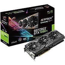 Asus ROG-STRIX-GTX1080TI-O11G-Gaming Carte graphique NVIDIA GeForce GTX 1080 TI 11Go PCI Express 3.0