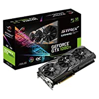 Asus-ROG-Strix-GeForce-GTX1080TI-O11G-Gaming-Grafikkarte-Nvidia-GDDR5X-Aura-Sync-RGB-fr-bestes-VR-und-4K-Gaming-farblich-abgestimmte-PCs