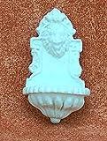 Wandbrunnen aus Polyresin weiß 6,5 cm. W815