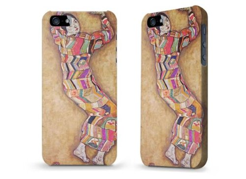 """Hülle / Case / Cover für iPhone 5 und 5s - """"Fräulein Beer"""" von Egon Schiele"""
