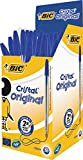 BiC Cristal Original 1.0 mm Ball Pen - Blue, Pack of 50