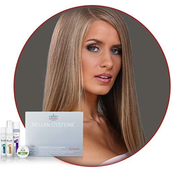 Nellen Blonde Keratin Hair Straightening Kit · Same Day Wash