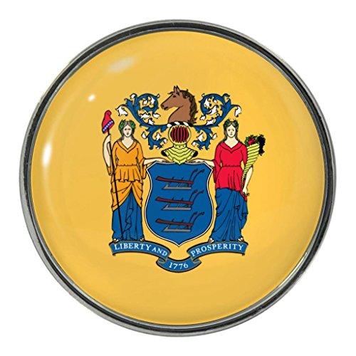 New Jersey US State Flagge Metall Magnet Kühlschrankmagnet