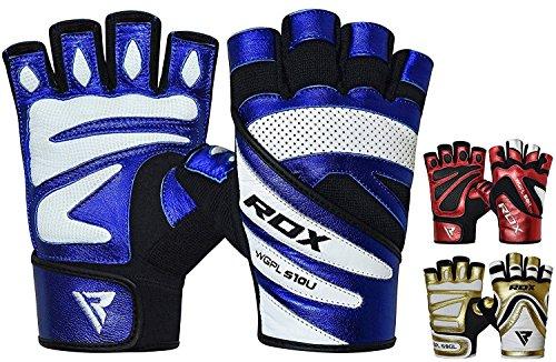 RDX Gym Fitness Handschuhe Wettbewerb Gewichtheben Bodybuilding Sports Trainingshandschuhe Workout Gloves Berg Radfahren Fahrrad Fahren Straße Rennen Fahren Joggen Wandern (MEHRWEG)