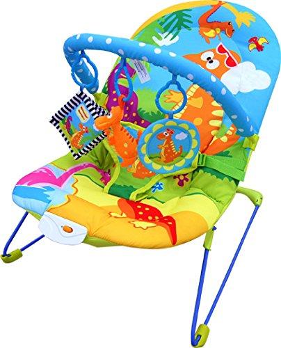Bebe Style Babyschaukel & Babywippe im Dino Design – Baby Wippe, Schaukel & Schaukelwippe