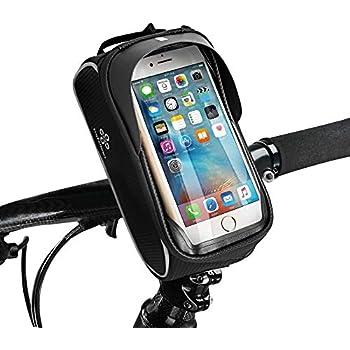 TraFellows Premium Fahrrad-Tasche mit Handy-Halterung I