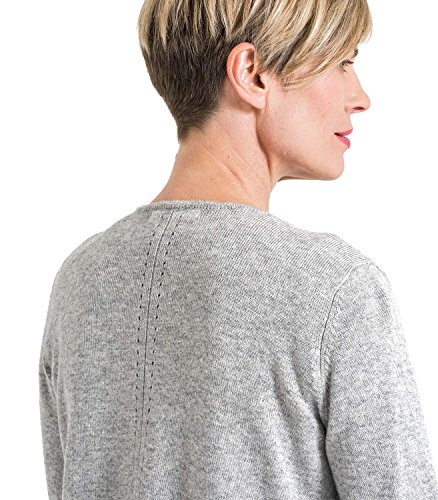 WoolOvers Cardigan drapé - Femme - Cachemire & Mérinos Flannel Grey