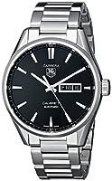 TAG Heuer WAR201A.BA0723 - Reloj para hombres, correa de acero inoxidable color plateado de TAG Heuer