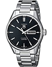 Tag Heuer war201 a.BA0723 – Wristwatch men's, stainless steel silver strap