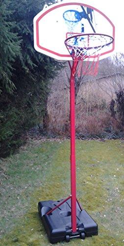 Basketballkorb mit Ständer - stufenlos höhenverstellbar - Ring 260cm !