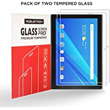 Robustrion Pack of 2 Anti-Scratch & Smudge Proof Premium Tempered Glass Screen Protector for Lenovo Tab 4 10 inch