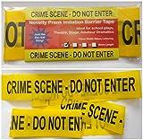 3m Length Crime Scene Do Not Enter Novelty Barrier Tape. 3 Metre Length