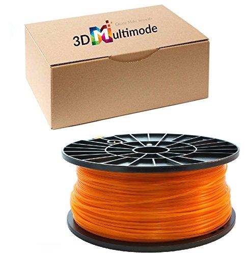 3D multimode 3D Filament - PETG, 1kg / 1.75mm - Orange, Druck Temperatur 230-260°C