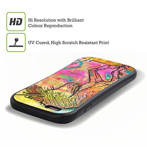 Ufficiale Dean Russo Soldato 2 Cultura Pop Case Ibrida per Apple iPhone 6 / 6s Unicorno