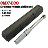 Citomerx® Eco Drehmomentschlüssel 1/4 Zoll 5-25NM 335mm