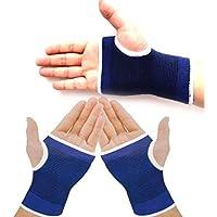 Poschell 2 pezzi, colore: blu con elastico polso per bretelle, Guanti di protezione