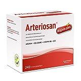 ARTERIOSAN Arginin Plus | Bluthochdruck und Arteriosklerose natürlich behandeln & Herz-Kreislauf-System stärken | mit L-Arginin, Folsäure, Vitamin B6 & B12 für gesunden Blutdruck (240 Filmtabletten)