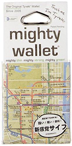 Dynomighty - Mighty Wallet - Geldbörse aus Tyvek - NYC Subway Map