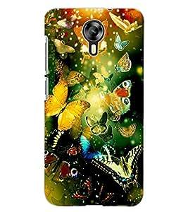 ColourCraft Beautiful Butterflies Design Back Case Cover for MICROMAX CANVAS XPRESS 2 E313