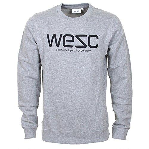 WESC -  Felpa  - Uomo Grey Melange X-Large