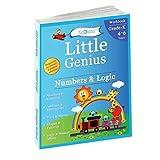 Numbers & Logic: Kindergarten Workbook (Little Genius Series): Teaches Numbers, Numbers in Words