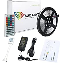 ALED LIGHT® Strisce LED Illuminazione 10 Metri 5050 RGB 300LEDs