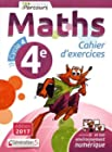 Cahier d'Exercices Iparcours Maths Cycle 4 - 4e (2017)