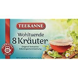 Teekanne - 8 Kräuter, 20 Doppelkammerbeutel, 4er Pack (4 x 40 g Packung)
